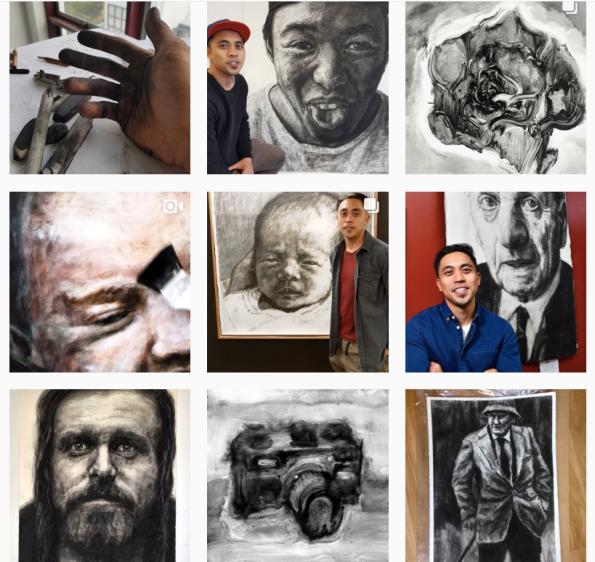kristone capistrano instagram art portraits