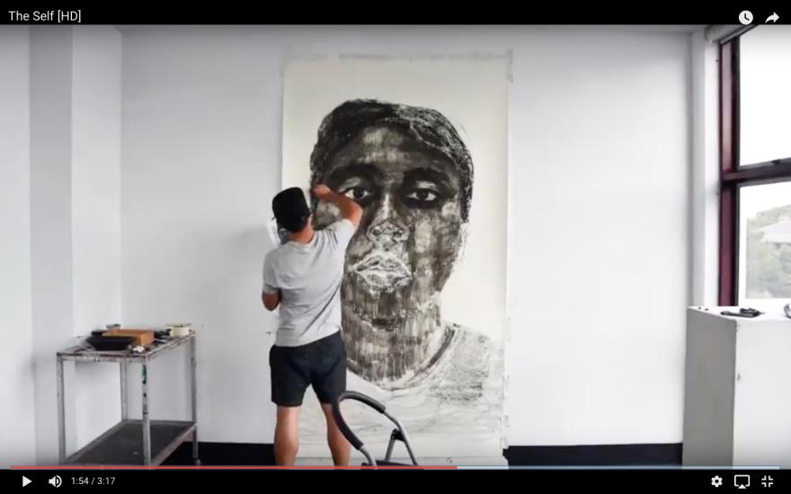 Kristone Capistrano Durational Self Portrait