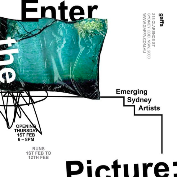 Enter The Picture: Emerging Sydney Artist Gaffa