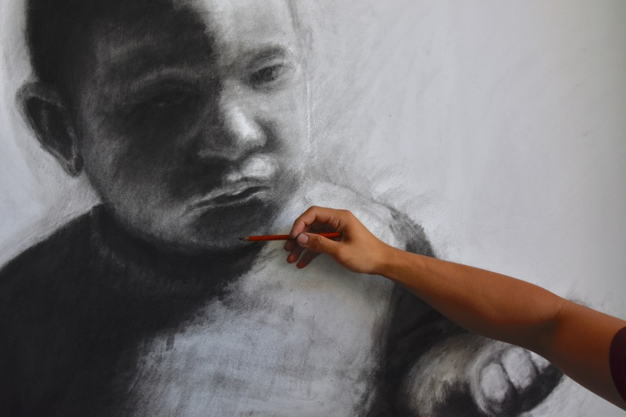 From Mosul to Mount Druitt Kristone Capistrano Drawing Refugees