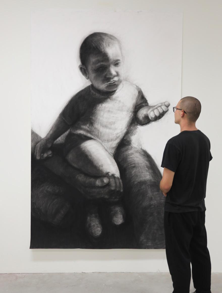 kristone capistrano drawing art portrait