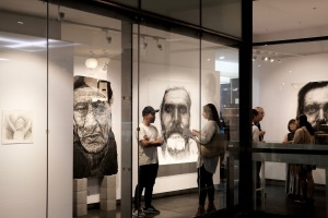 Kristone Capistrano Exhibition Melbourne Forgotten Art artist Asian Australian Charcoal Drawing Contemporary Commission Art for Sale Emerging Artist Monochrome Drawing Draughtsmanship Portraiture Portrait Sketch Impressionism art collector