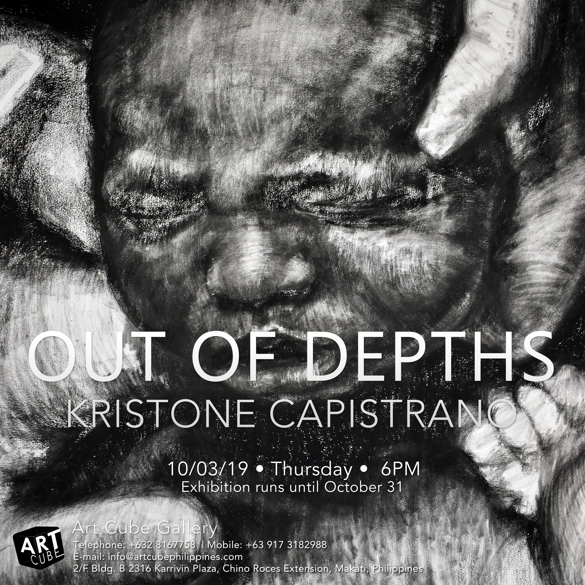 Kristone Capistrano Art Invitation Manila Sydney NYC Art Collector Art Commission Draw Drawing