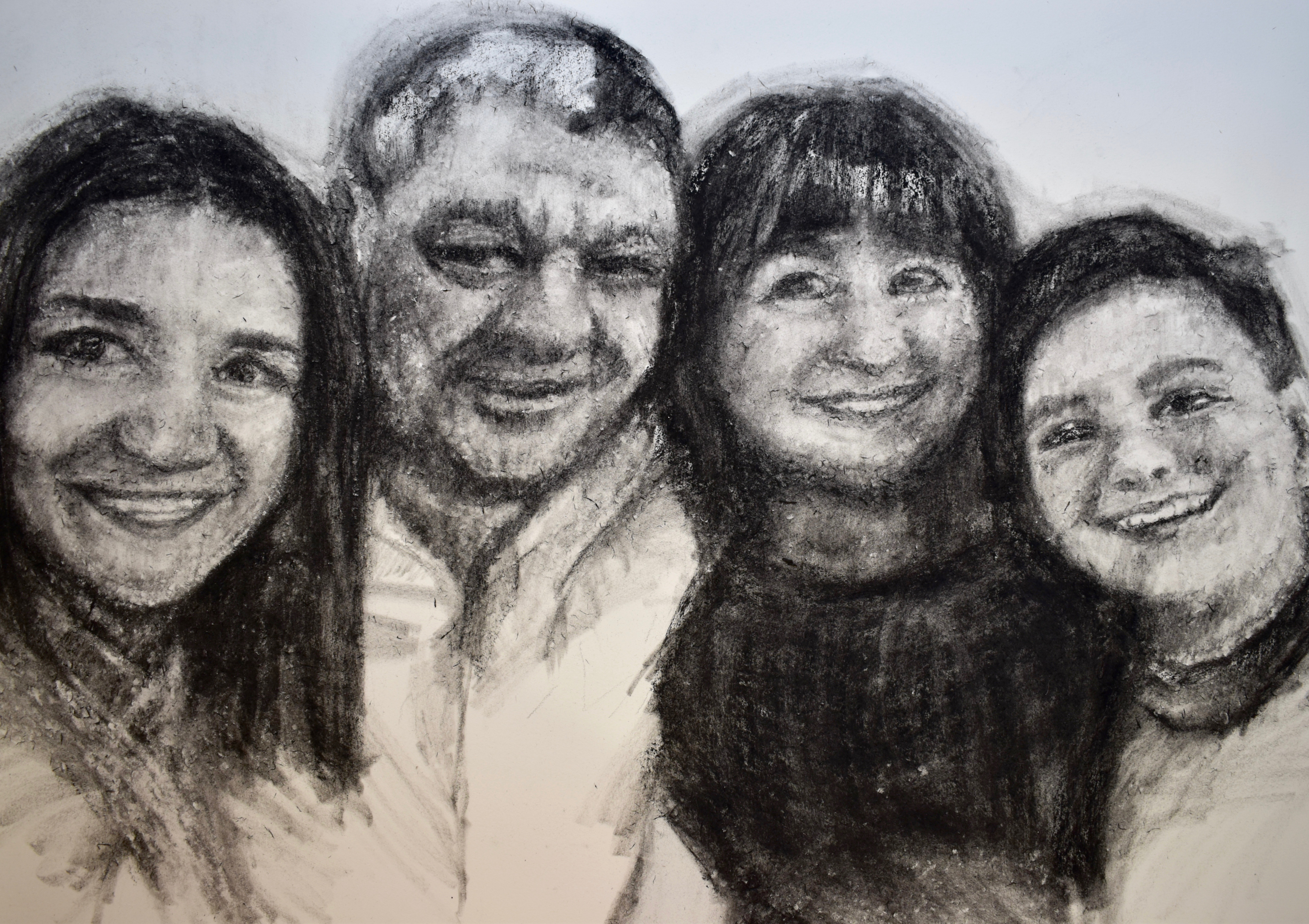 kristone capistrano portrait commission family portraiture work for sale