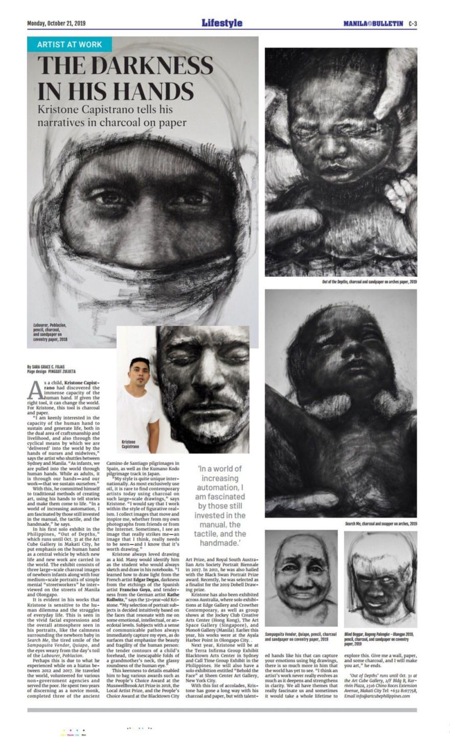 Kristone Capistrano Art News Philippines Manilaart Manila